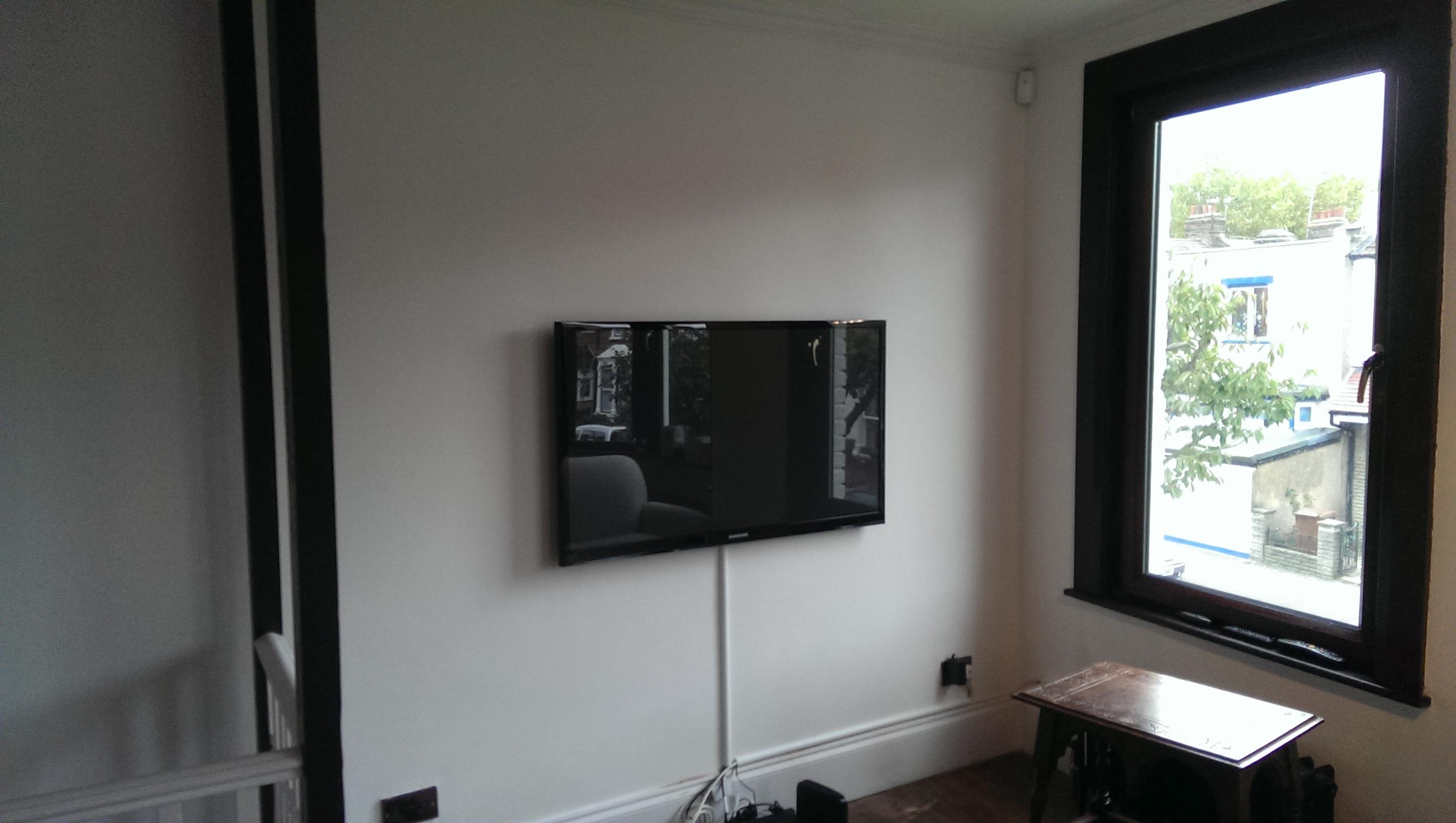 tv wall mounting service tv installation mountmytv. Black Bedroom Furniture Sets. Home Design Ideas